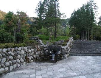 田母沢街区公園へのもう一つの出入口