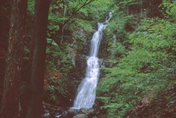 寂光の滝(横)