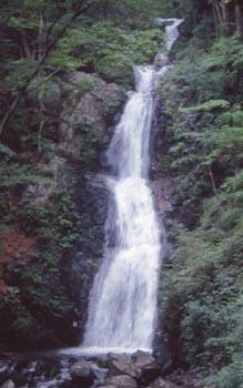 寂光の滝(縦)