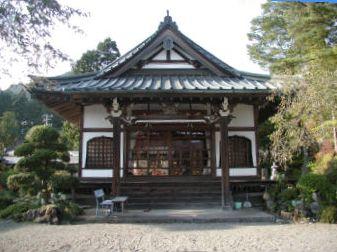 日本山妙法寺本堂の正面