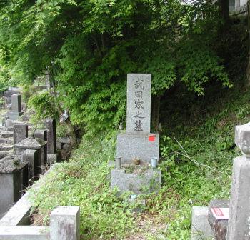 武田久吉の墓